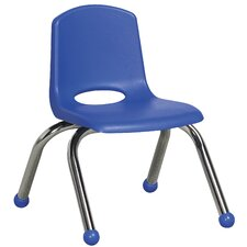 ECR4Kids Classroom Stack Plastic Chair (Set of 6)