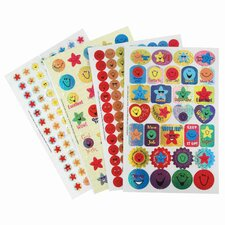 Book Stars and Smiles Sticker (Set of 2)