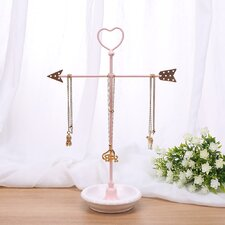 Metal Arrow Jewelry Display and Jewelry Stand Hanger Organizer