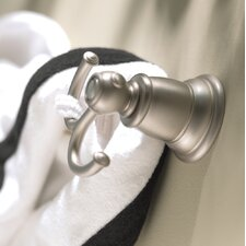 Kingsley Wall Mounted Double Robe Hook