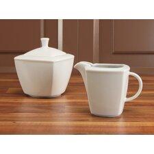 2 Piece Victoria White Milk and Sugar Set