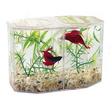 0.47 Gallon Large Aquarium Betta Keeper Aquarium Tank