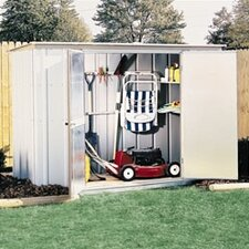 8.28 ft. W x 3.27 ft. D Metal Storage Shed