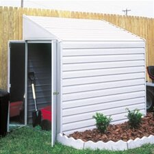 Yardsaver 4 ft. W x 10 ft. D Metal Lean-To Storage Shed