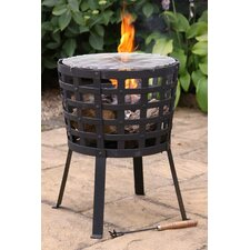 Aragon Cast Iron Fire Pit