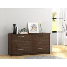 Karis 6 Drawer Double Dresser