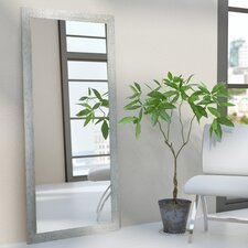 Rectangle Silver Framed Wall Mirror