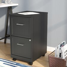 Cadogan 2 Drawer Mobile Vertical Filing Cabinet