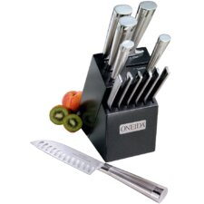 Cutlery 13 Piece Performance Oval Handle Knife Block Set