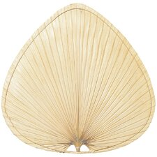 Palisade Wide Oval-Shaped Palm Indoor Ceiling Fan Blades (Set of 8)