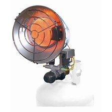16,000 BTU Portable Propane Radiant Tank Top Heater