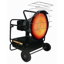 125,000 BTU Portable Kerosene Radiant Utility Heater