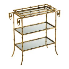 Bamboo Tray End Table