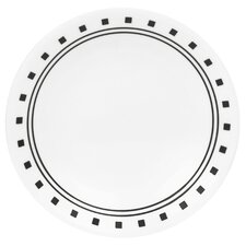 """Livingware 6.75"""" City Block Bread and Butter Plate (Set of 6)"""