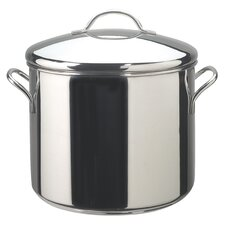 Classic Stainless Steel Stock Pot with Lid