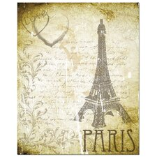 Love Paris by Secretly Spoiled Graphic Art
