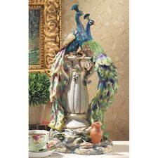 Peacocks in Paradise Statue