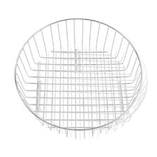 Round Drain Basket in Stainless Steel