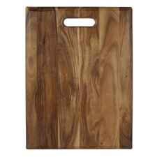 "Acacia 16"" x 12"" Gripper Cutting Board"