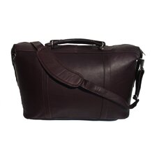 """20"""" Large Leather Carry-On Duffel"""