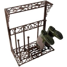 Best for Boots Cast Iron Boot Rack