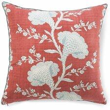 Geisha Cotton Throw Pillow