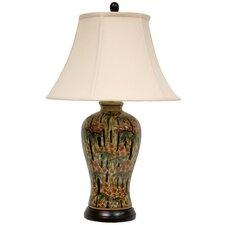 "Bamboo Blossom 25"" Table Lamp"