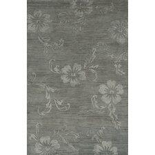Chelsea Hand Knotted Blue Area Rug