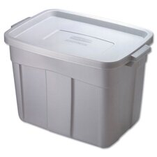 18 Gallon Roughneck Storage Box in Steel Gray