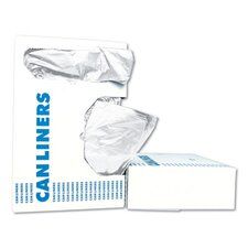 High-Density Can Liner in White