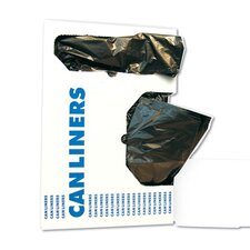 60-Gallon Low-Density Can Liner in Black