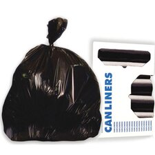 45-Gallon High-Density Can Liner in Black