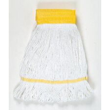 Small Super Loop Mop Head in White