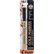 Gold Metallic Extra Fine Point Marker Pen (Set of 6)