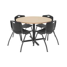 Hospitality Round Table with Chairs