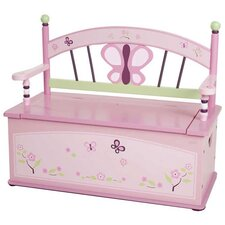 Sugar Plum Kids Bench with Storage Compartment