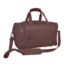 "13"" Leather Gym Duffel"