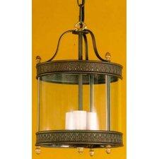 Decorative 3 Light Outdoor Hanging Lantern