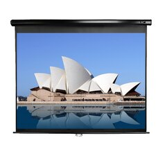 "Manual Series White 120"" diagonal Manual Projection Screen"