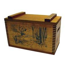 Standard Storage Box With Whitetail Deer Print