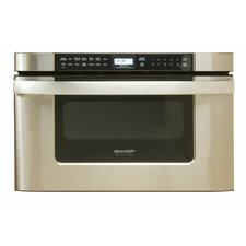"Easy Open 24"" 1.2 cu.ft. Microwave Drawer"