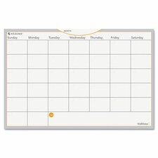 WallMates Wall Mounted Calendar Whiteboard
