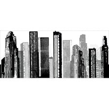 Cityscape Giant Wall Mural
