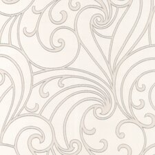 "Ulterior  33' x 20.5"" Scroll 3D Embossed Wallpaper Roll"
