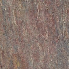 """16"""" x 16"""" Natural Stone Field Tile in Textured Copper"""