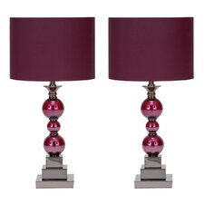 "Bennie 24"" Table Lamp Set (Set of 2)"