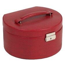 Heritage Round Jewelry Box with Travel Case