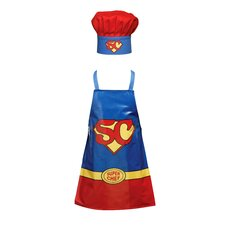 Children's Cotton Super Chef Set
