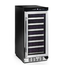 33 Bottle Single Zone Built-In Wine Cooler