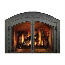 Complete Faceplate with Operable Door for Madison Fireplace
